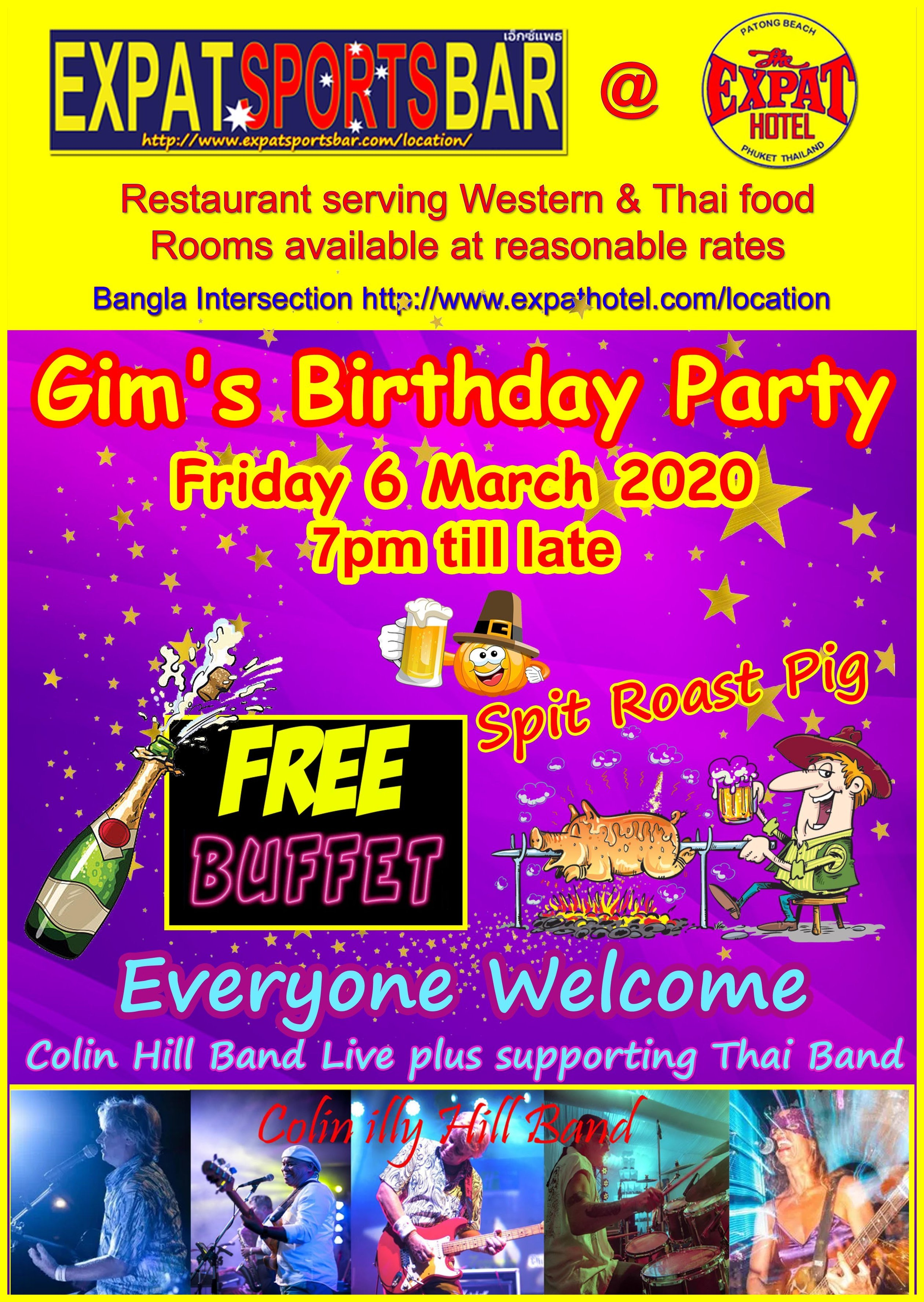 Expat - Gim's Birthday Party